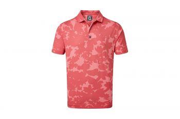 FootJoy Pique Camo Floral Print Poloshirt
