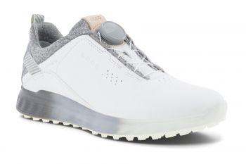 ecco Golf S-Three Boa (Herren, weiß) Golfschuhe