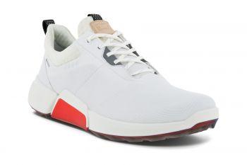 ecco Golf Biom Hybrid 4 (Herren, Weiß/Rot ) Golfschuhe