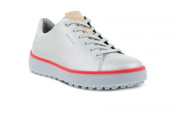 ecco Golf Tray (Damen, Silber/Beere) Golfschuhe