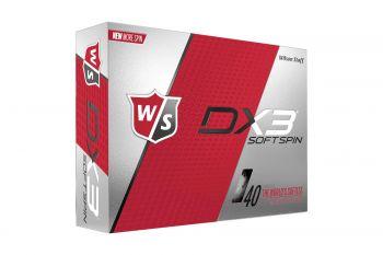 Wilson Dx3 Soft Spin Golfbälle