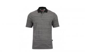 Golfino Casual Drive Stretch (Herren, Black) Poloshirt