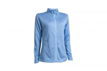 Backtee Melange (Damen, Blue Bell) Midlayer-Jacke