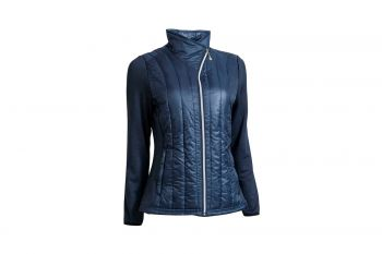 Backtee Quilted Thermal (Damen, Navy) Jacke