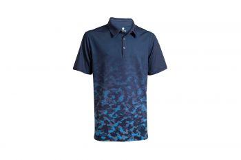 Backtee Faded Quick Dry UV Polo (Herren, Marineblau) Poloshirt