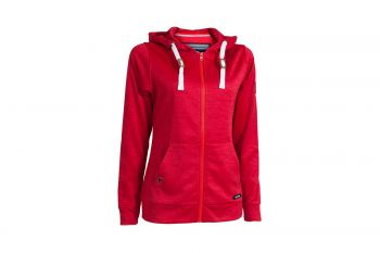 Backtee Performance (Damen, Rot) Kapuzen Jacke