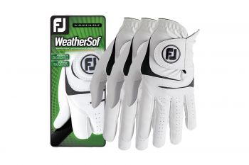 FootJoy WeatherSof Herren Handschuhe - 3'er Pack