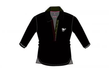 girls golf Sissi basic 7/8 Arm Poloshirt