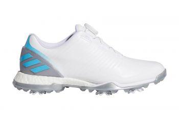 adidas AdiPower 4ged (Damen, Boa, Weiß/Blau) Golfschuh