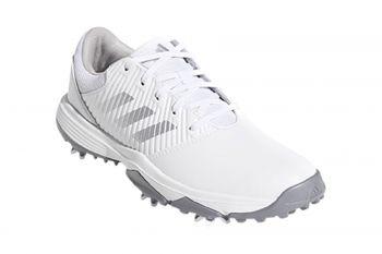 adidas Jr CP Traxion (Kinder, Weiß) Golfschuh