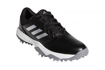 adidas Jr CP Traxion (Kinder, Schwarz) Golfschuh