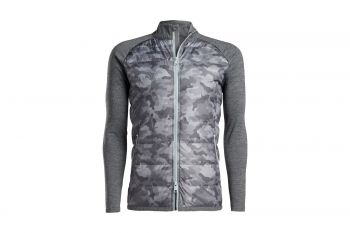 G/Fore The Shelby Camo Full Zip Midlayer Jacke