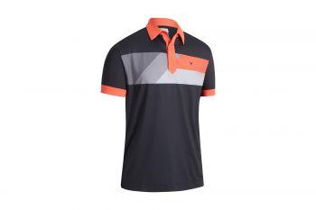 Callaway Gradient Color Block Poloshirt