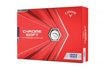 Callaway Chrome Soft Triple Track Golfbälle