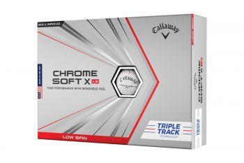 Callaway Chrome Soft X LS Triple Track Golfbälle