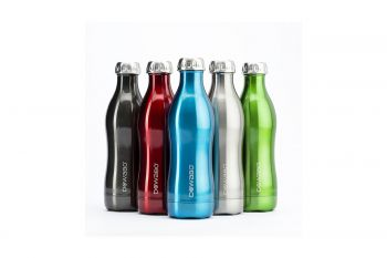 DOWABO Isolierflasche Edelstahl Metallic Collection