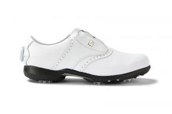 FootJoy Dryjoys BOA (Damen, Weiß) Golfshuh