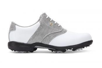 FootJoy Dryjoys (Damen, Weiß/Schwarz/Weiß) Golfschuh