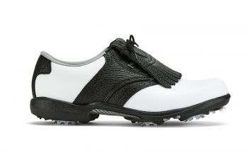 FootJoy Dryjoys (Damen, Weiß/Schwarz) Golfschuh