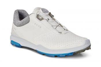 ecco Biom Hybrid 3 BOA (Herren, Weiß) Golfschuhe