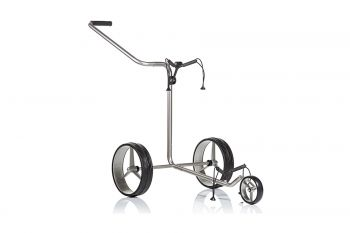 JuCad Edition Edelstahl 3-Rad Trolley