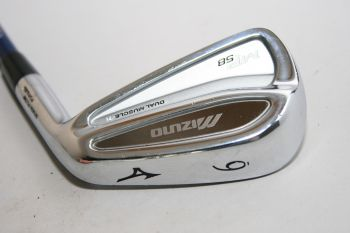 Mizuno MP-58 (Graphit, Regular) Eisen 6