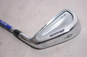 Mizuno MP 60 (Stiff, Stahl, +0.5 inch, 2° upright) Eisen 6