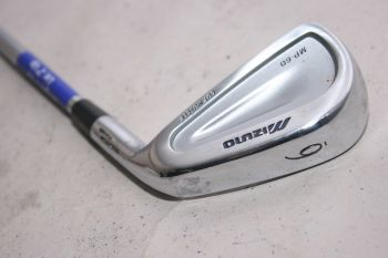 Mizuno MP 60 (Stiff, Stahl, +0.5 inch, 2° upright) Eisen 6