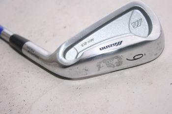 Mizuno MX 23 (Stiff, Stahl) Eisen 6