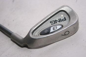 Ping i3 + (Regular, Graphit, +0.5 inch, 3° upright) Eisen 6