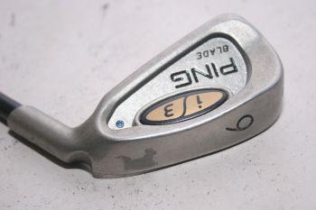 Ping i3 Blade (Regular, Graphit, 0.75° upright (Blue Dot)) Eisen 6