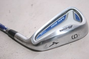 Mizuno MX 200 (Regular, Graphit, +0.5 inch, 2° upright) Eisen 6