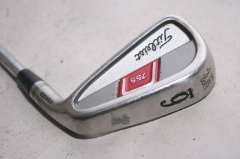Titleist 755 Forged (Stiff, Stahl, +0.5 inch, 4° upright) Eisen 6