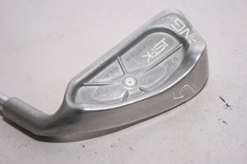 Ping ISI K (Regular, Stahl, 3° upright (White Dot)) Eisen 5