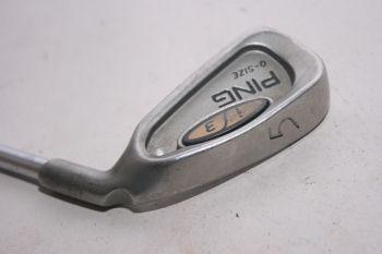 Ping i3 O-Size (Stiff, Stahl, 3.75° upright (Silver Dot)) Eisen 5