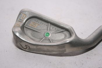 Ping ISI Nickel (Stiff, Stahl, 2.25° upright (Green Dot), Linkshand) Eisen 5