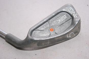 Ping ISI K (Stiff, Stahl, -0.5 inch , 2.25° flat (Orange Dot)) Eisen 5