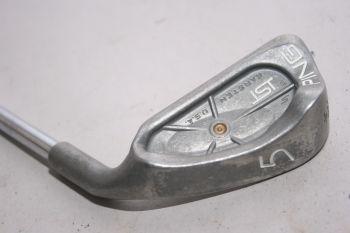 Ping ISI S (Light, Stahl, -0.5 inch , 3.75° flat (Gold Dot)) Eisen 5