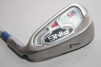 Ping i15 (Regular, Stahl, 0.75° upright) Eisen 7
