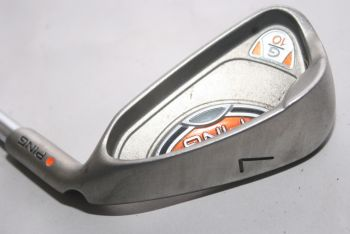Ping G10 (Light, Stahl, 2.25° flat (Orange Dot)) Eisen 7