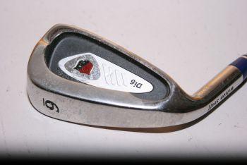 Wilson Staff Di6 (Stiff, Stahl, 2° upright, Linkshand) Eisen 6