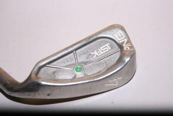 Ping ISI K (Regular, Stahl, +0.5 inch, Green Dot) Eisen 4