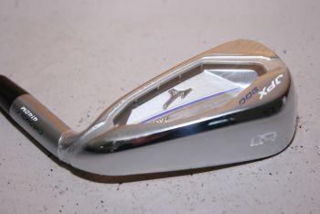 Mizuno JPX 900 Hot Metal (Stiff, Stahl, +1 inch, NEU) Eisen 5