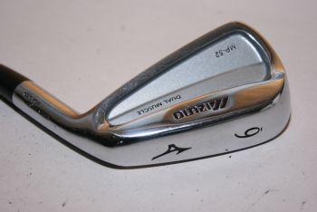 Mizuno MP 52 (Regular, Stahl, +0.5 inch, 2° upright) Eisen 6