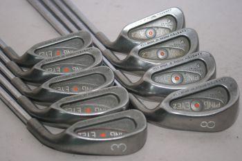 Ping Eye 2 Plus (3-SW, Regular, Stahl, Orange Dot) Eisensatz
