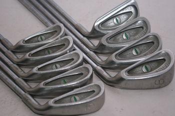 Ping Eye (3-SW, Regular, Stahl, 2.25° upright (Green Dot)) Eisensatz