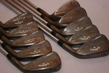 Callaway Apex MB 18 + MD4 52° & 58° (3-SW, X-Stiff, Stahl, +0.5 inch, 1° upright) Eisensatz