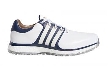 adidas Tour360 XT-SL Wide (Herren, Weiß/Blau) Golfschuh