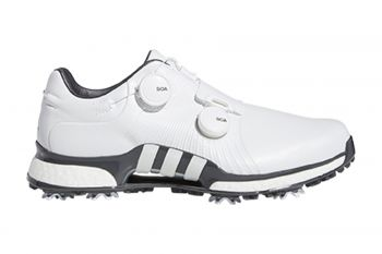 adidas Tour360 XT Twin BOA (Herren, Weiß/Grau) Golfschuh