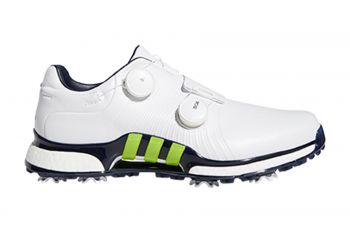 adidas Tour360 XT Twin BOA (Herren, Weiß/Blau) Golfschuh